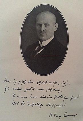 Dr. Georg Lomer