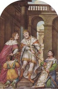 Salomo und Hiram