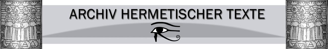 Archiv Hermetischer Texte